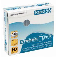 RAPID Heftklammern 1000 Stück 23/15 Strong verzinkt silber