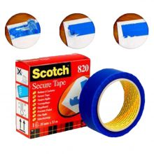 SCOTCH Siegelband 1 Rolle 35mm x 33m blau