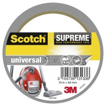 SCOTCH Geweband Supreme 4101S10 1 Rolle 48mm x 10m grau