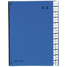 PAGNA Pultordner 24249 A4 24 Fächer A-Z blau