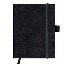 HERLITZ Notizbuch Classic Tablet-Format 96 Blatt kariert schwarz