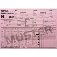 Karteikarte 666040 AUK 2019 rosa