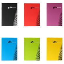 TIP TOP OFFICE Notizheft A4 52 Blatt liniert farbig sortiert