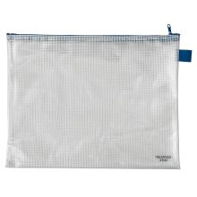 VELOFLEX Reißverschlusstasche A4 transparent