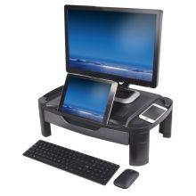 DESQ Monitorständer 1481 mit Schublade schwarz