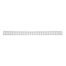 GBC Drahtbinderücken WireBind 100 Stück DIN A4 3:1-Teilung 14 mm silber