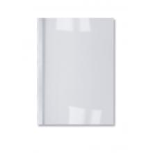 GBC Thermobindemappe LeatherGrain 100 Stück DIN A4 1,5mm weiß