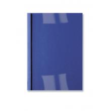 GBC Thermobindemappe LeatherGrain 100 Stück DIN A4 3mm dunkelblau