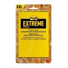POST-IT® Haftnotizen Extreme Notes EXT57M 2 Blöcke à 25 Blatt 114 x 171 mm farbig sortiert