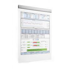 DURABLE Magnetleiste Durafix® Rail 210 x 17 mm silber