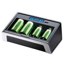 VARTA Ladegerät LCD Universal Charger schwarz