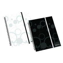 Notizblock Black and White DIN A6 70 Blatt schwarz