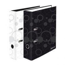 Ordner Black and White DIN A4 7cm schwarz