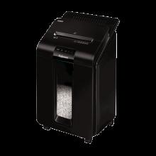 FELLOWES Aktenvernichter AutoMax™ 100M 4 x 10 mm Mini-Partikelschnitt P-4 schwarz