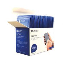 NABO Reinigungs- und Desinfektionstücher Cleany 50 Stück einzeln verpackt
