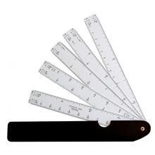 ARISTO Fächermaßstab AR1323 5 Fächer 10 Reduktionen
