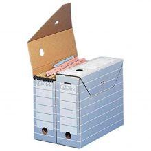 ELBA Archivbox A4 grau/weiß
