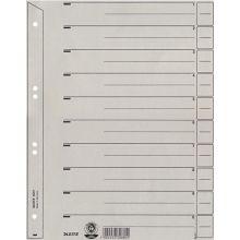 LEITZ Trennblatt 6097 100 Blatt DIN A4 grau