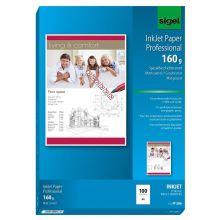 SIGEL Fotopapier IP286 A4 100 Blatt 160 g/m² matt weiß