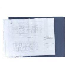 Planschutzhülle 10 Stück DIN A2 transparent