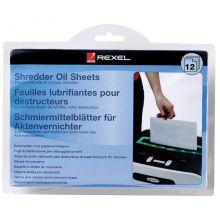 REXEL Ölblätter für Aktenvernichter 20 Stück