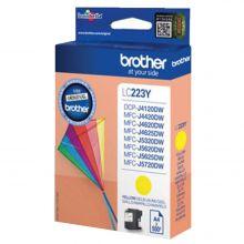 BROTHER Tintenpatrone LC223 0,55K gelb