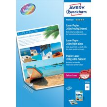 AVERY ZWECKFORM Fotopapier Premium 2798-100 DIN A4 100 Blatt 200 g/m² weiß
