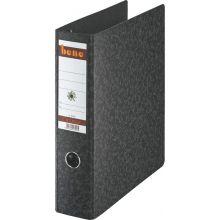 BENE Postscheckordner 92800 2x DIN A5 quer Hartpappe 7,5 cm schwarz