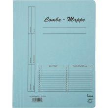 BENE Comba-Mappe 111000 A4 Karton blau