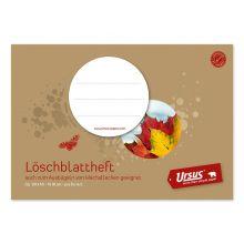 URSUS Löschblattheft Format-X A5 10 Blatt 80 g/m² perforiert