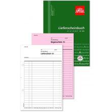 OMEGA Lieferscheinbuch 945 A5 hoch 3 x 50 Blatt weiß/rosa/weiß