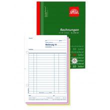 OMEGA Rechnungsbuch 2949 OK A5 hoch 3 x 50 Blatt weiß/rosa/weiß