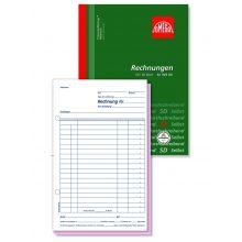 OMEGA Rechnungsbuch 949 OK A5 hoch 2 x 50 Blatt weiß/weiß