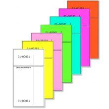 OMEGA Kellnerblock 317 S/2 100 Blatt 7,5 x 14 cm rosa