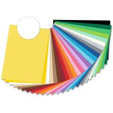 FOLIA Tonzeichenpapier 50 x 70 cm weiß