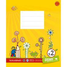 URSUS FORMATI Schreibheft S.2 Quart 20 Blatt liniert