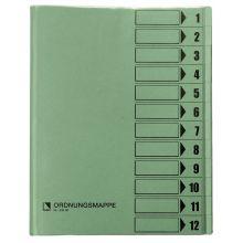 BENE Ordnungsmappe 83800 12-teilig A4 grün