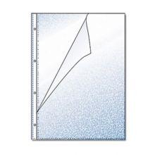 HETZEL Klarsichthülle 100 Stück A4 60 my genarbt transparent