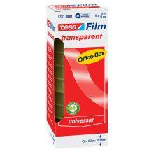 TESA Klebefilm Box 57371 10 Rollen 15 mm x 33 m transparent