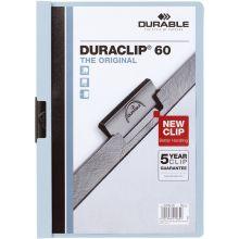 "DURABLE Klemmmappe für 60 Blatt ""Duraclip"" A4 blau"