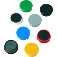 ALCO Magnete Ø 3,2 cm 10 Stück mehrere Farben