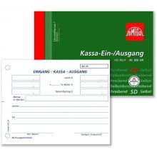 OMEGA Kassa-Ein-Ausgang 926OK A6 quer 100 Blatt weiß