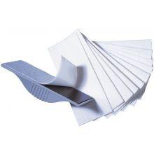 FRANKEN Löschfilz für Tafelwischer Z1923 10 Stück weiß