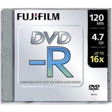 FUJIFILM Jewel Case DVD-R 1 Stück 4.7GB 120 Minuten