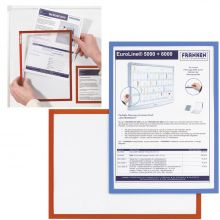 FRANKEN Dokumentenhalter Frame It X-tra!Line A4 magnetisch rot