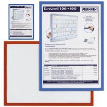 FRANKEN Dokumentenhalter Frame It X-tra!Line A4 magnetisch blau