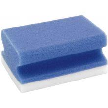 FRANKEN Universalreinigungsschwamm X-Wipe! 2 Stück weiß/blaublau