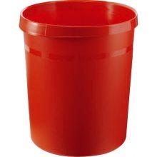 HAN Papierkorb 18190-17 aus Kunststoff 18 Liter rot