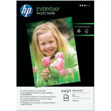 HP Fotopapier Everyday DIN A4 100 Blatt 200 g/m² glänzend weiß