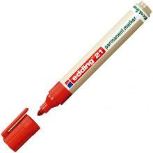 EDDING Permanentmarker 21 EcoLine Rundspitze 1,5-3 mm rot